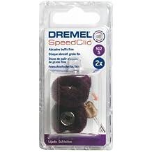 Dremel - Dremel EZ SpeedClic(TM): discos de pulir abrasivos de acabado, grano 320 (512S)