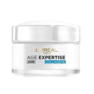 L'Oréal Paris Age Expertise – Crema intensiva de día hidratante y antiarrugas con colágeno, para mayores de 35años, 50ml
