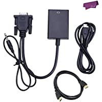 SalesLa VGA Per Uscita HDMI 1080P + Audio TV HDTV