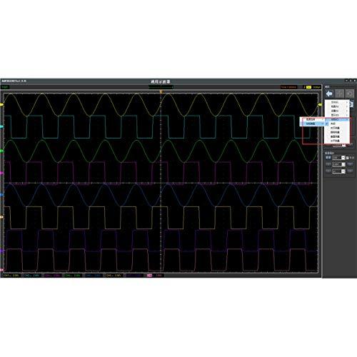 Jasnyfall Hantek1008B PC Usb-Automobildiagnose-Auto-Test-Oszilloskop-Fahrzeug-Test-Schwarzes