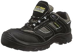 Safety Jogger JUMPER, Unisex - Erwachsene Arbeits & Sicherheitsschuhe S3, schwarz, (blk/blk/dgr 117), EU 42