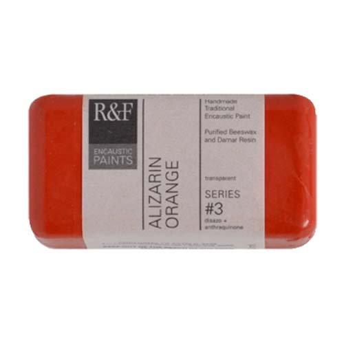 R & F Encaustic 40ml alizarina Arancione