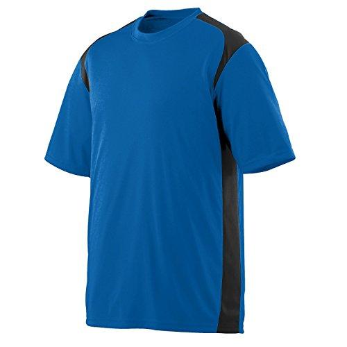 Augusta Herren T-Shirt Mehrfarbig - Royal/Black