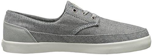 Emerica The Troubadour Low, Chaussures de skateboard homme Gris (Grey/White 370)