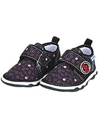 Mee Mee First Walk Baby Shoes with Chu Chu Sound (22 EU, Black)