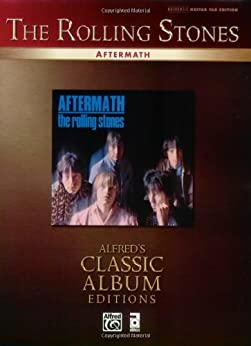 The Rolling Stones: Aftermath: Authentic Guitar TAB Sheet Music Transcription (Guitar) par [The Rolling Stones]