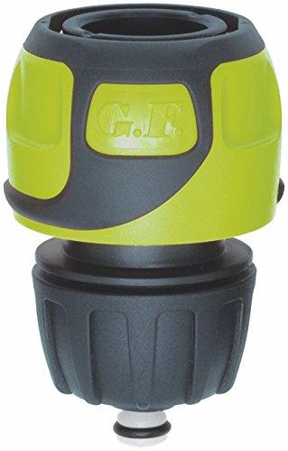 GF 80283061 Raccord rapide Soft Touch Aqua stop tuyau Ø 16 à 19 mm - Vert, 2