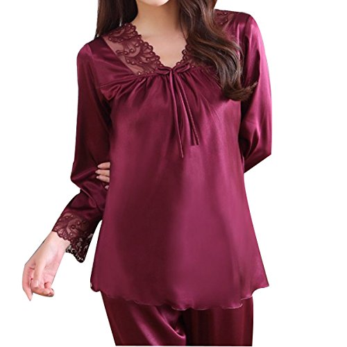 Mme WS @ WX1023 Pyjama Costume à Manches Longues Mince 11