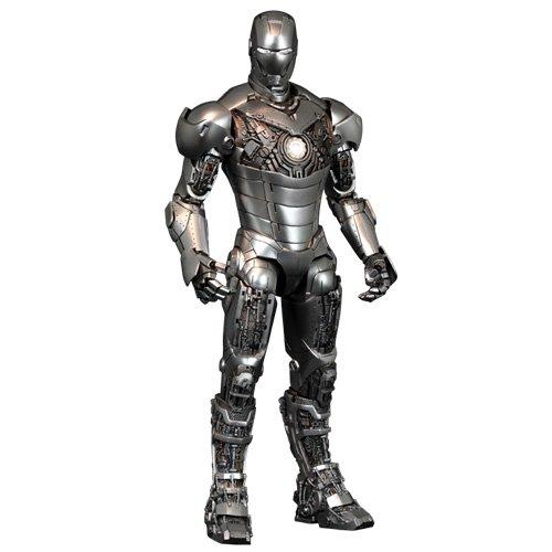 Hot Toys Iron Man 2 Movie Masterpiece Actionfigur 1/6 Iron Man Mark II Armor Unleashed 30 cm