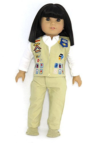 18 Inch Doll Clothes - Cadet girl scout uniform | Fits 18 American Girl Dolls | by American Fashion World