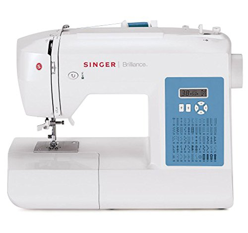 Singer brilliance 6160 / macchina da cucire elettronica con 60 punti cucito