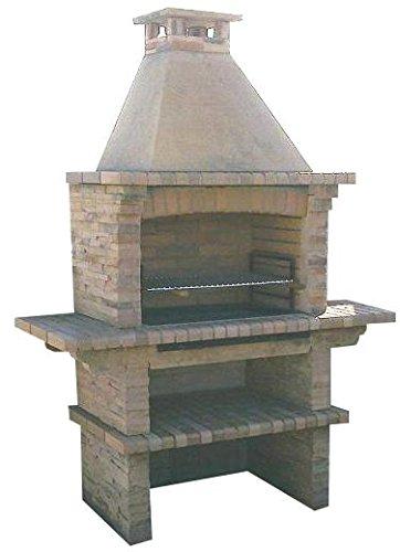 Huge Mediterrani Stone Masonry BBQ - Charcoal BBQ