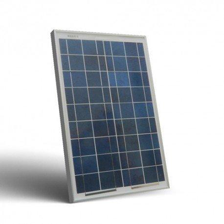 Pannello solare fotovoltaico 20w 12v policristallino impianto camper barca baita