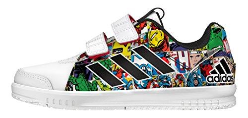 adidas-lk-marvel-cf-c-zapatillas-de-deporte-para-ninos-blanco-ftwbla-negbas-rojint-35-eu