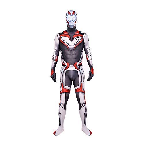 SHANGN Avengers Endgame Quantum Warfare Spandex Kostüm Für Erwachsene Halloween Cosplay Kostüm,Adult-S (Für Erwachsene Warfare Kostüm)