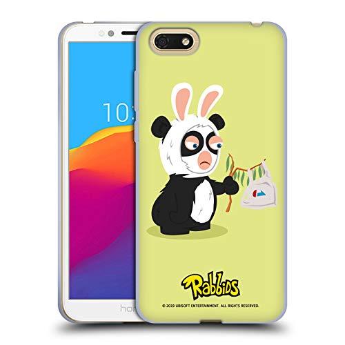 fizielle Rabbids Panda Kostueme Soft Gel Hülle für Huawei Honor 7s / Y5 Prime (2018) ()