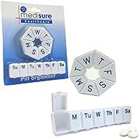 Medisure 7Tage Weekly Twin Pack verwendbar Langlebig praktisch Braille-Pille Tablet Box Case Halter Organisatoren... preisvergleich bei billige-tabletten.eu