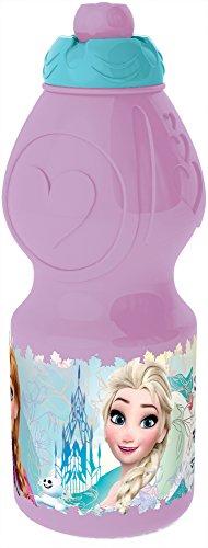 Frozen 86832, Botella Cantimplora, 400 ml, Morado , Modelos/colores Surtidos, 1 Unidad