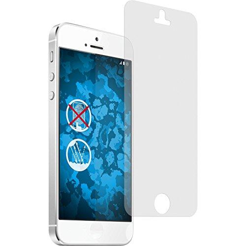 PhoneNatic 2er-Pack Bildschirmschutzfolien matt kompatibel mit Apple iPhone SE