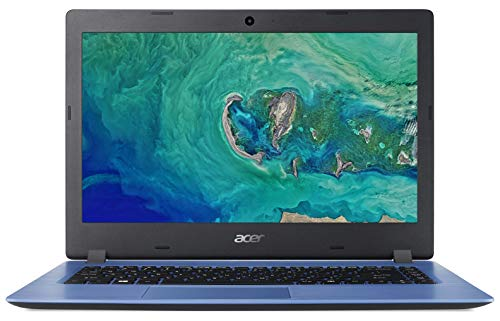 Acer Aspire 1 A114-32 14-inch Laptop - Intel Celeron N4000 4GB RAM 64GB eMMC HD Display Windows 10 in S Mode Blue