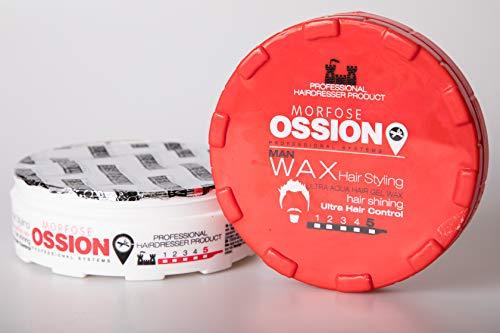 Morfose Ossion Hair Ultra Aqua Gel Wax 5 Rotefrüchteduft 200 ml