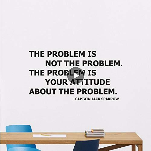 Sparrow Zitat Wandtattoo Abnehmbare Wandaufkleber Home Office Design Wand Kunst Wandbild Worte Kunst Movie Poster 380 ()