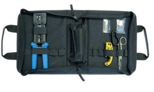 Platinum Tools 90151 EZ-RJ45 HD Basis-Abschluss-Set, mit Reißverschlusstasche. Box von Platinum Tools -