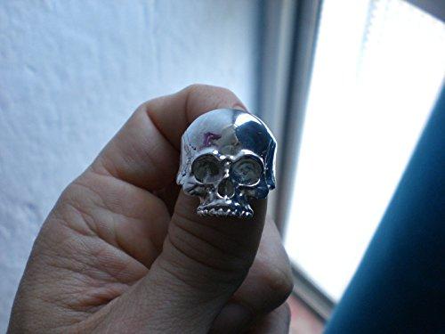 d3de688267fe Anillo calavera plata skull ring