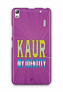YuBingo Kaur, My Identity Designer Mobile Case Back Cover for Lenovo A7000