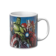 Idea Regalo - Star Licensing Marvel Avengers Tazza Mug, Ceramica, Multicolore