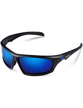 Duduma Gafas de Sol Deportivas Polarizadas Para Hombre Perfectas Para Esquiar Golf Correr Ciclismo TR821 Súper...