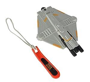 Simba 109471735-Star Wars Soft Planeador