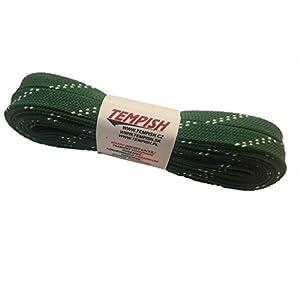 Unbekannt Schnürsenkel f. Schlittschuhe, Eishockey, Hockey 180-300 cm gewachst Schuhbänder grün