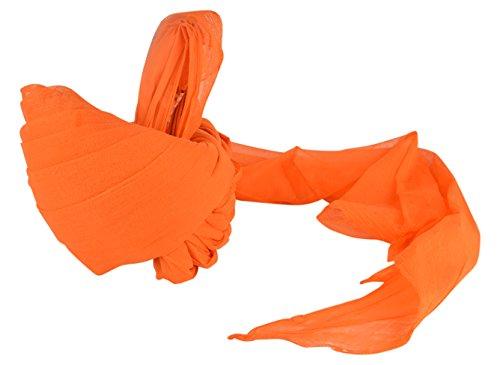 Jodhpuri Safa Men's Turban (Orange, 22)