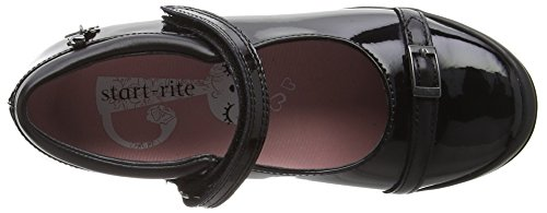 Start-rite  Purrfect Large, Mary Jane fille Noir (Black)