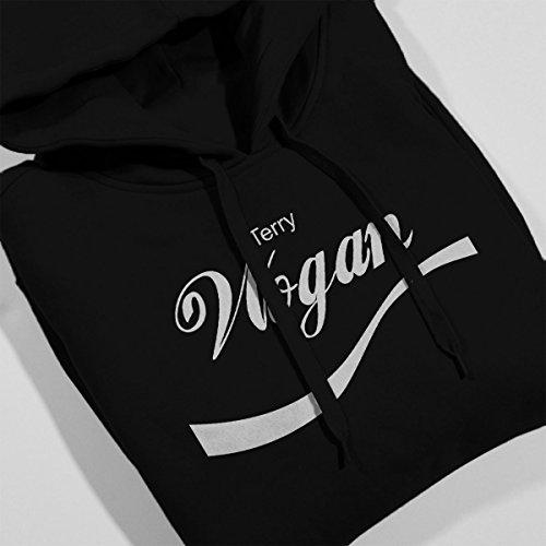 Terry Wogan Coke Logo Men's Hooded Sweatshirt Black