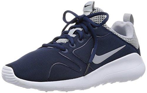 Nike Kaishi 2.0 Scarpe Sportive da Uomo Blu Midnight Navy/Wolf GreyWhite 4