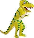 Patentierte Schultüte - Dino Schulrex - 100cm - Dinosaurier T Rex Tyrannosaurus Rex - Stehende Schultüte - Der kleine Knick