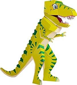 Patentierte Schultüte – Dino Schulrex – 100cm – Dinosaurier T Rex Tyrannosaurus Rex – Stehende Schultüte – Der kleine Knick – grüner Dino – 1 Stück