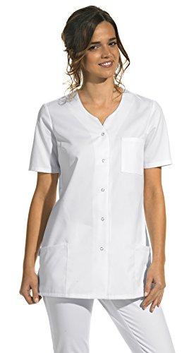 Hosenkasack für Damen weiß 1/2 Arm (50)