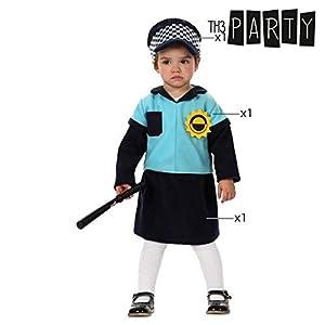 Atosa- Disfraz Policía, 0 a 6 meses (10483)