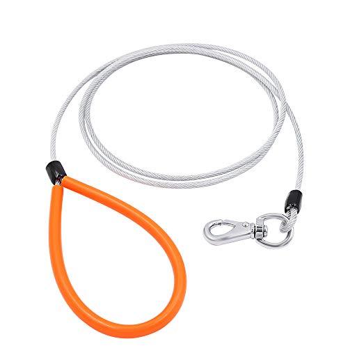 Tresbro Correa Perro Resistente La Masticación, Cable