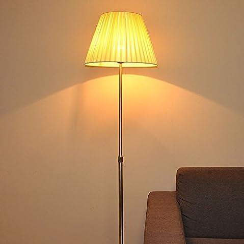 ETERN Living Room Bedroom Office Stainless Steel Extension Rod Decorative Floor Lamp