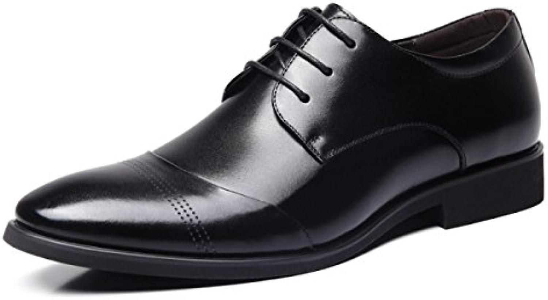Männer Klassische Moderne Retro Oxfords Round Toe Komfort Spitze Wölbungs beiläufige Kleid Schuhe  Billig und erschwinglich Im Verkauf