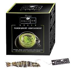 Creano exquisitea - Grüner Tee - ganze Teeblätter so einfach wie ein Teebeutel zubereitet - WELTNEUHEIT