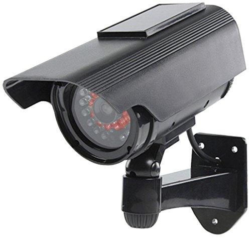 König SAS-DUMMYCAM90 Solarbetriebene Dummy Kamera mit aktivem IR