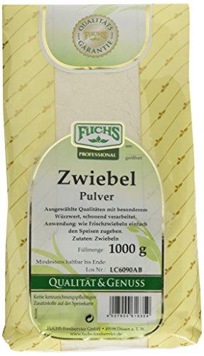 FUCHS Zwiebelpulver, 2er Pack (2 x 1 kg)