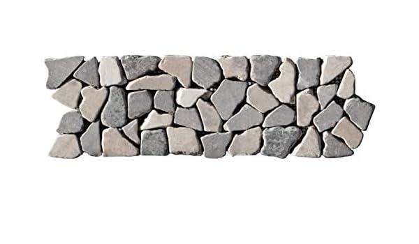 Marmor BO-557 1 Fliesen Bordüre Naturstein Lager Stein-mosaik Herne NRW