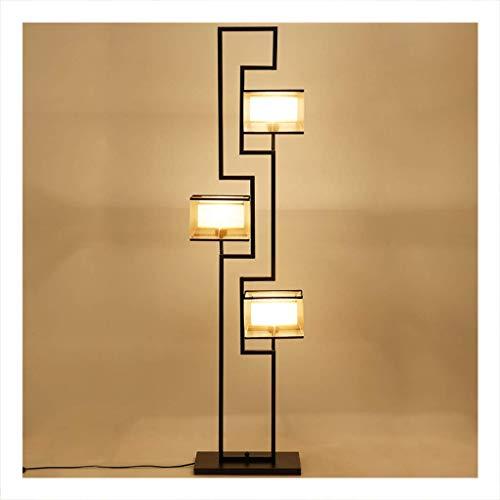 Beleuchtung LED-Stehlampe, einfache moderne Wohnzimmer-Raum-Studien-Stand-aufrechte Lampe, antike orientalische Art-Stehlampe (Antike Lampe Stand)