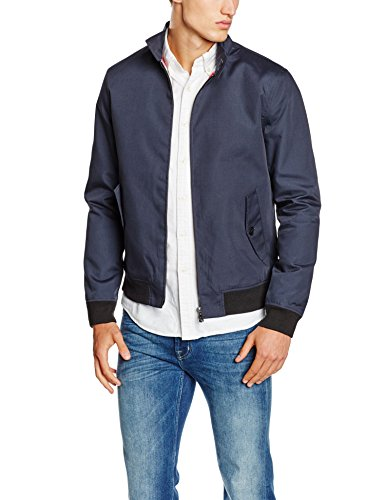 Only & Sons Onsodger Harrington, Blouson Homme Bleu (Dark Navy)